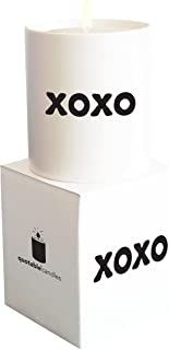 Quotable Cards Candle XOXO, 1 Each