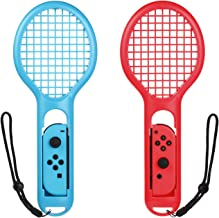 Morotek Tennis Racquet for Nintendo Switch Joy-Con Controllers, 2 Pieces Tennis Racket for Mario Tennis Aces,ARMS and Motion Sensing Games