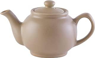 Price & Kensington Matt Taupe 6 Cup Teapot