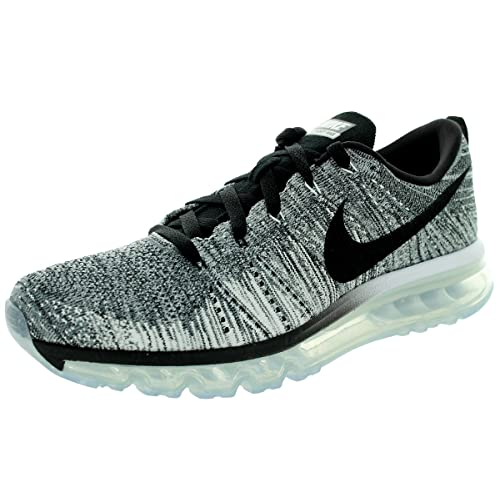 249161ce35b5 NIKE Flyknit MAX  Oreo  Running Shoes White Black Cool Grey Wolf Grey  620469 102