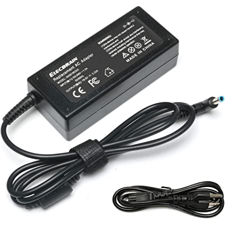 Cargador adaptador de CA de 19.5V 3.33A para HP 15-F009WM 15-F023WM 15-F039WM 15-F059WM 15-g073nr F9H92UA 15-g074nr Laptop 4.5/0.118in Fuente de alimentación con cable