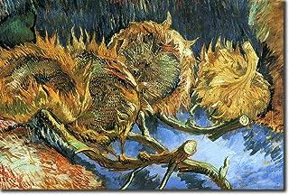 Mejor impresión de girasol de Van Gogh de 2021 - Mejor calificada y revisada