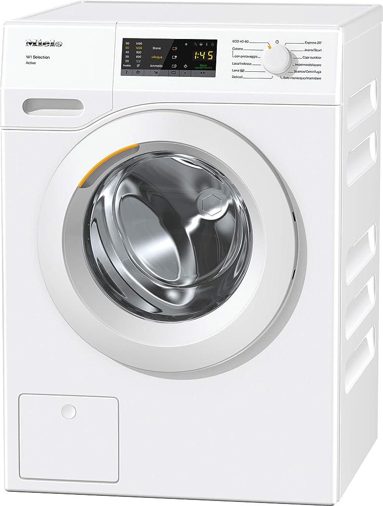 Miele active, lavatrice standard, a+++, 50 db, 1400 rpm, carico frontale, 7 kg 11SA0331