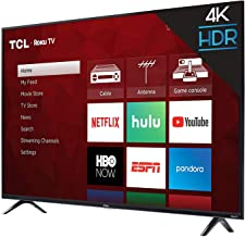 $184 » TCL 43S423 43 Inch 4K Ultra HD Smart Roku LED TV (2018) (Renewed)