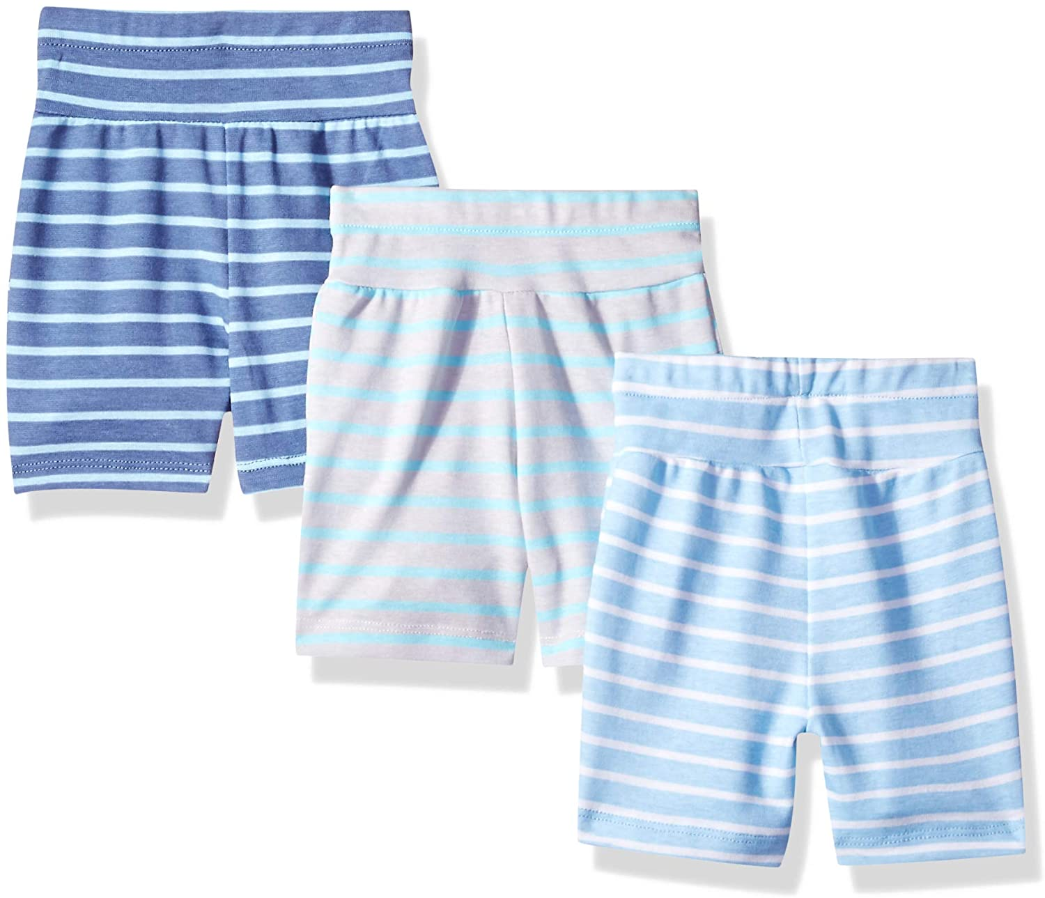 Hanes Ultimate Baby Flexy 3 Pack Adjustable Fit Knit Shorts: Clothing, Shoes & Jewelry