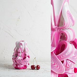 Candela Decorativa - Design Speciale come reglao per Festa della Mamma - Collezione d'Arte Artigianale - EveCandles