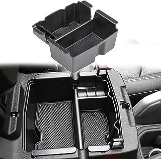 Sukemichi Jeep Wrangler Center Console Insert Organizer Tray Storage, Armrest Box Secondary Storage for 2018-2020 Jeep JL ...