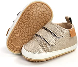 HsdsBebe Toddler Baby Boy Girl Suede Moccasins Genuine Leather Hard Rubber Sole First Walkers Tassels Crib Dress Shoes