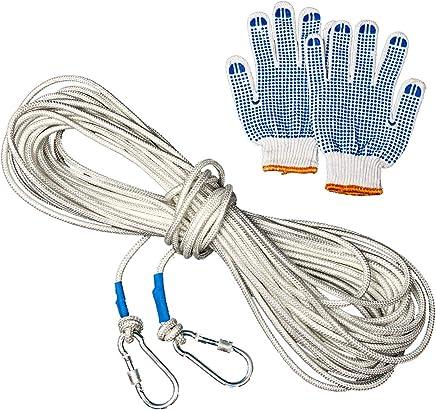 TENGGO 10 15 15 15 30M Outdoor Survival Safety Paracord Stahldraht-Rope Carabiner Handschuhe Notfallwerkzeug Kits-30M B07MVZ2VQS | Merkwürdige Form  0364d6