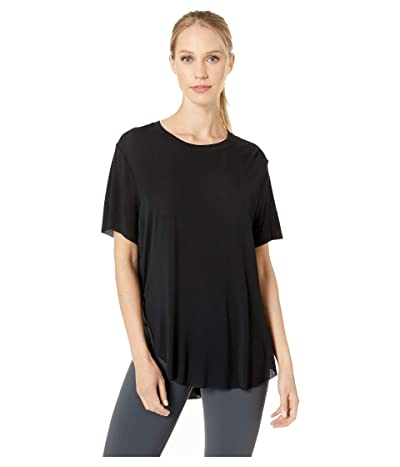 ALO Lithe Tee (Black) Women