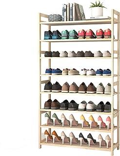jklj Étagère de Chaussure Étagère à Chaussures Debout à 8 Niveaux pour 32 Paires, Organisateur de Stockage pour la Cuisine...