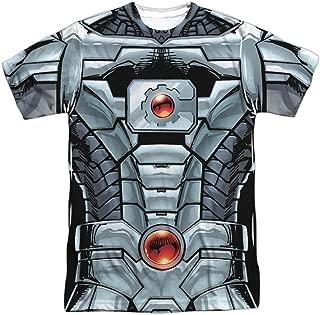 Cyborg DC Comics Superhero Justice League Costume Adult Front Print T-Shirt Tee