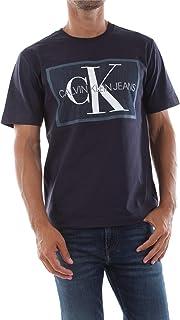 Calvin Klein Men's MONOGRAM ICON BOX S/S T-Shirt