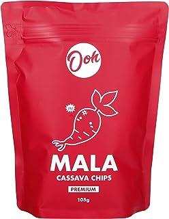 Ooh SG Cassava Chips, Mala ,105 grams