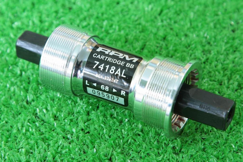 FSA RPM CARTRIDGE 7418AL 軸長116mm BC1.37*24 幅68mm 軽量 ボトムブラケット アルミ合金キャップ シールドベアリング