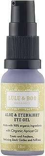 Lulu & Boo Organics Aloe and Eyebright Gel para ojos 15 ml