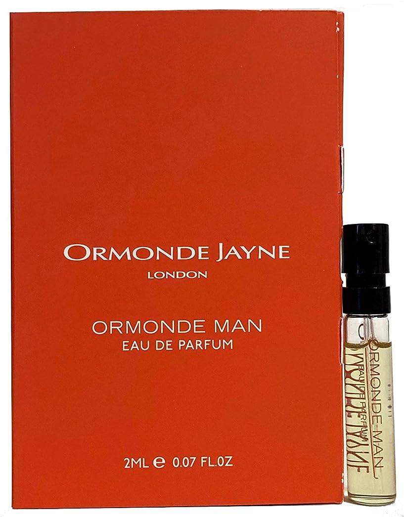 不機嫌行商土砂降りオーモンド ジェーン オーモンド マン オードパルファン 2ml(Ormonde Jayne ORMONDE MAN EDP Vial Sample 2ml)