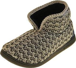 Dunlop Mens Faux Fur Slipper Boots