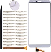 Goodyituo Touch Screen Glass Digitizer Replacement for Huawei Honor 7X/BND-L21/BND-L22/BND-L24 Mate SE/BND-AL10/BND-TL10(White)