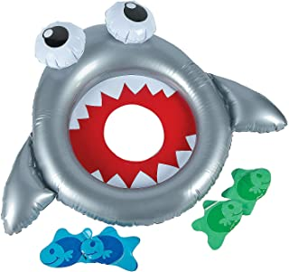 inflatable shark ring toss