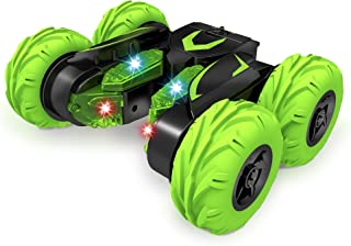 Bambiya Super-Fast RC Stunt Car – Remote Control Car Toy Does Spins, Flips, Rotations, Races Forward and Backward, Tumbles and Much More – Twin Motor 360-Degree Stunt Car – for Kids 5+ Years Old