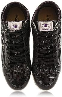 CRAVO & CANELA Starla Black Sequin Sneakers