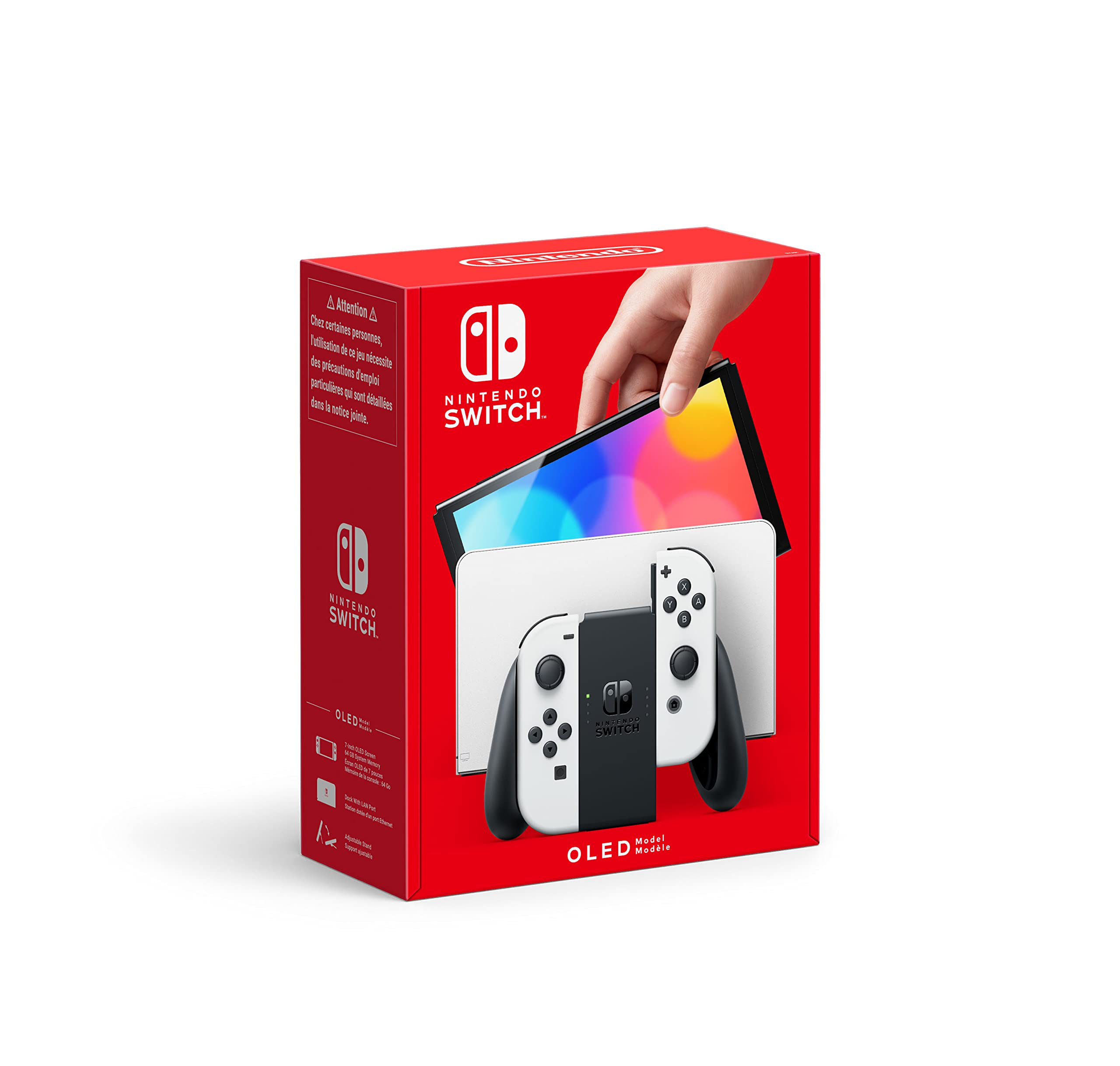Nintendo Switch OLED Weiss - Switch Console