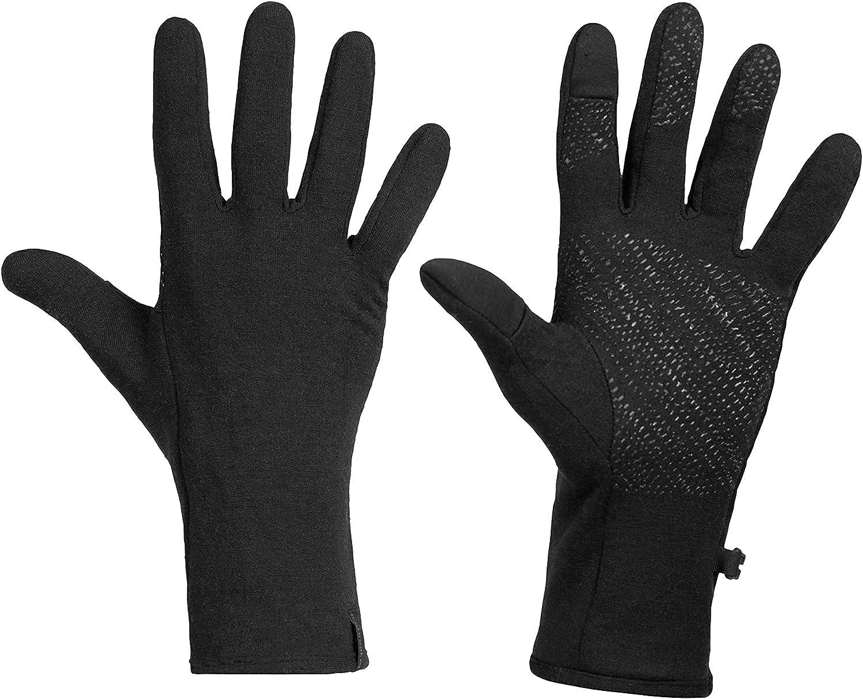 NEW Icebreaker Merino unisex Quantum Wool for Men Winter Liner アイテム勢ぞろい Glove