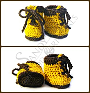 Baby Work Boot Booties pdf695