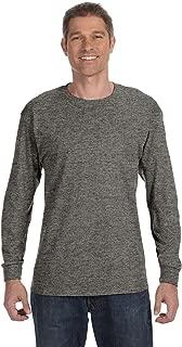 By Gildan Adult 53 Oz Long-Sleeve T-Shirt - Graphite Heather - 3XL - (Style # G540 - Original Label)