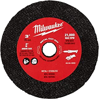 milwaukee 3 inch cut off blades