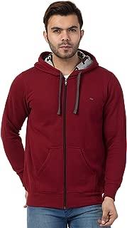 Corsair Men's Hoodie Fleece Sweatshirt with Pocket (Green, Grey, Orange, Black, Maroon)