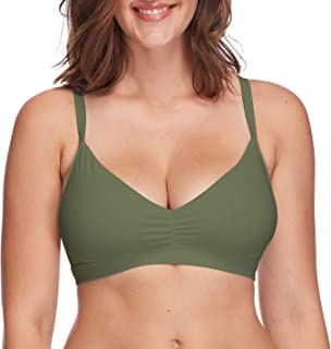 Body Glove Women's Smoothies Drew Solid D, DD, E, F Cup Bikini Top Swimsuit