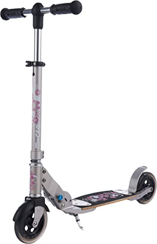 Micro Scooter Lady Flex Tretroller mit 145 mm Rollen mit Blaumen
