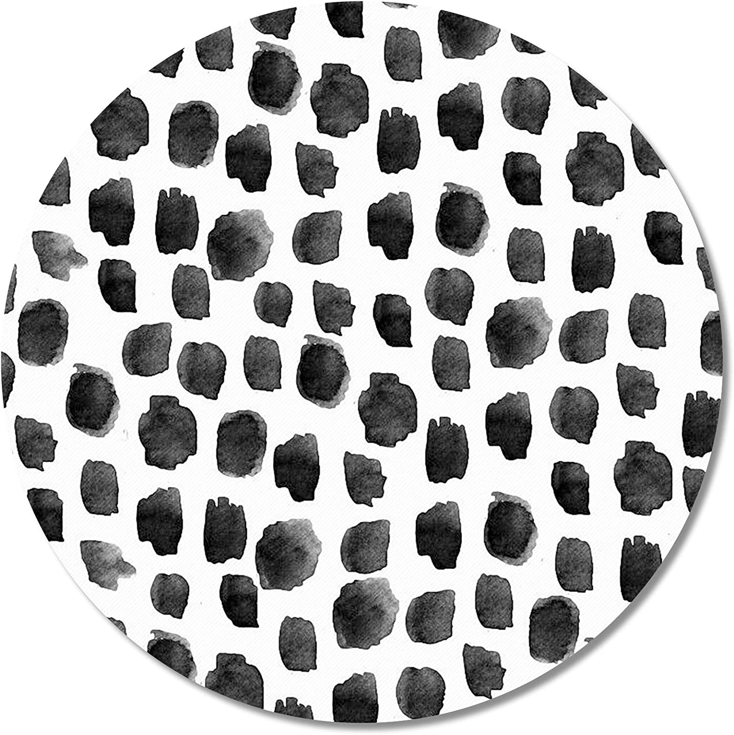 Britimes Round Mouse Pad Dot Print Premium-Textured Max 51% OFF Polka Outstanding
