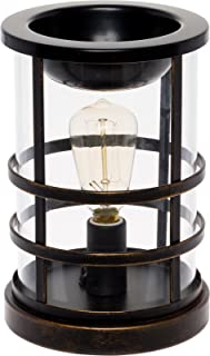 Edison Bulb Wax Warmer - Freshener Wax Melter Mindful Design (Oil Rubbed Bronze)