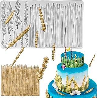 UG LAND INDIA Fall Harvest Mold,Grass Lavender Gypsophila Wheat Barley Fern Wild Meadow Grass Mold Flowers Silicone Mold L...