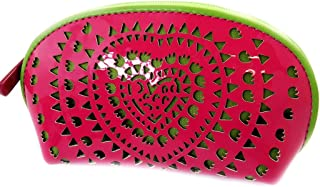 Zip purse 'Agatha Ruiz De La Prada' green pink (varnish).