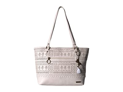 Sakroots Arcadia Brynn Medium Satchel (Stone Tribal Beauti) Satchel Handbags