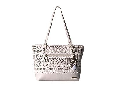 Sakroots Arcadia Brynn Medium Satchel (Stone Tribal Beauti) Satchel Handbags