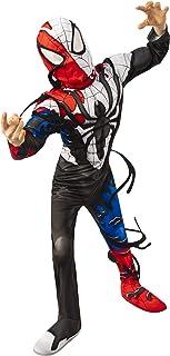 Rubies Costume (Canada) 702182_M Boy's Marvel Spider-Man Maximum Venom Deluxe Venomized Captain America Costume, Medium