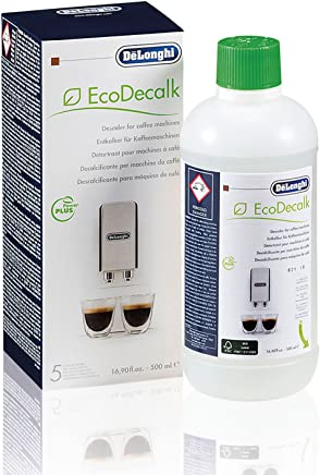 Genuine DeLonghi Descaler Cleaner Espresso Coffee Machine - 500ml - EcoDecalk DLSC 500