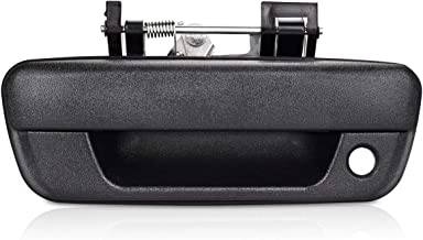 TruBuilt 1 Automotive Exterior Black Textured Tailgate Door Handle with Keyhole Replacement for 2004-2012 Chevrolet Colorado and GMC Canyon Pickup Truck T1A 25801998