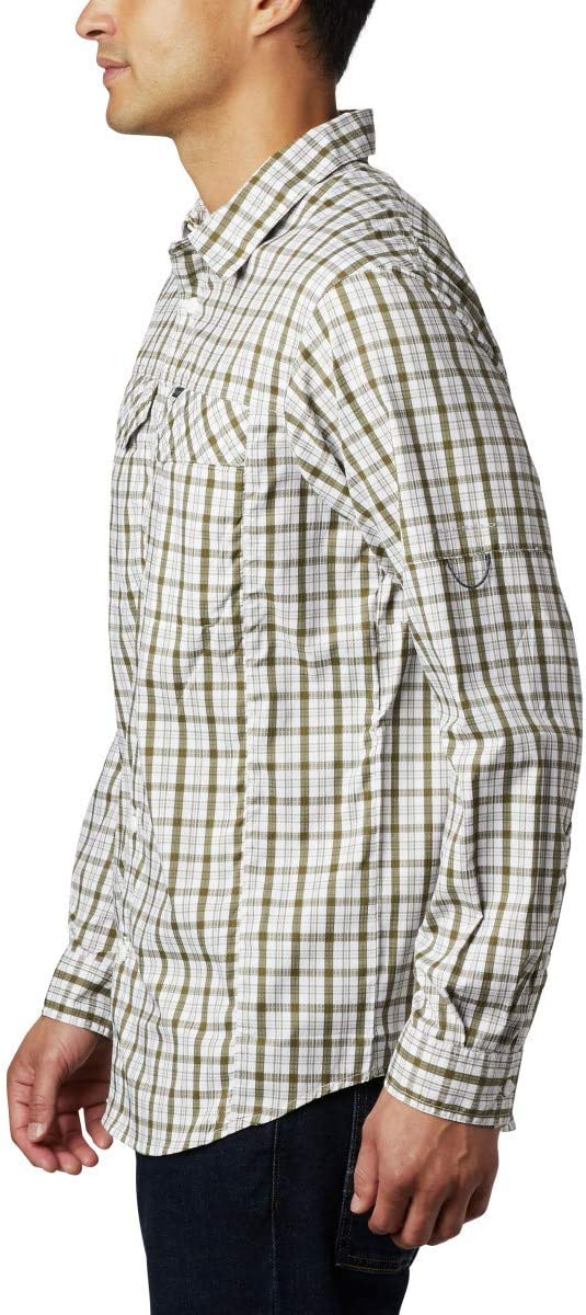 Columbia Mens Silver Ridge Lite Plaid/™ Long Sleeve