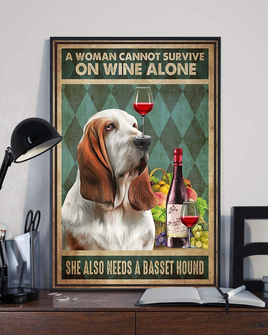 Dzeetee A Woman Cannot Survive on Wine Alone Needs Also Challenge the Max 72% OFF lowest price a she Ba