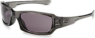 Men's Oo9079 Fives Squared Rectangular Sunglasses