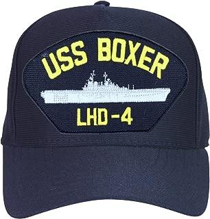 USS Boxer LHD-4 Ships Ball Caps