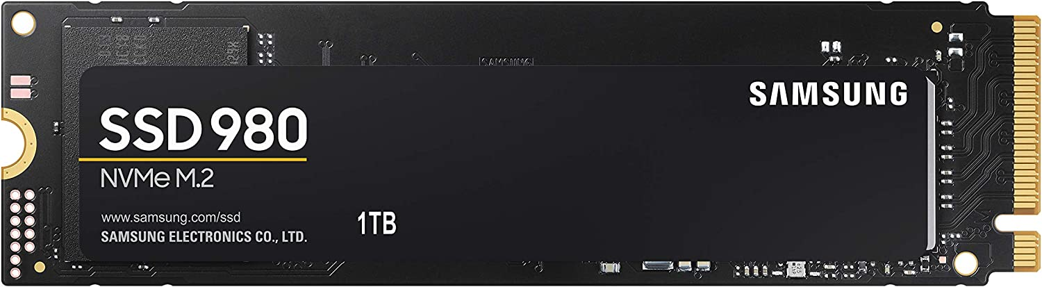 SAMSUNG 980 SSD 1TB M.2 NVMe Solid State Drive  $109.99 Coupon