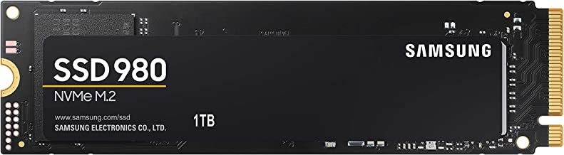 Samsung (MZ-V8V1T0B/AM) 980 SSD 1TB - M.2 NVMe Interface Internal Solid State Drive with V-NAND Technology