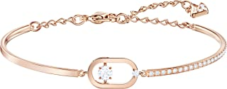 SWAROVSKI Women's Sparkling Dance Jewelry Collection, Rose Gold Tone Finish, Clear Crystals